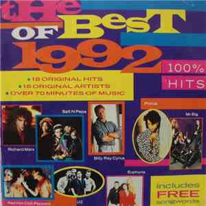 Various - The Best Of 1992... 100% Hits download free
